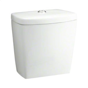 Karsten® Tank with Chrome Push Button and Lid Only - White Product Image