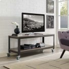 Vivify Tiered Serving or TV Stand in Gray Walnut Product Image