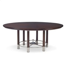 "Octo Dining Table - 74"" Walnut"