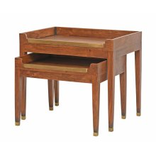 University Club Tables, Set Of Two