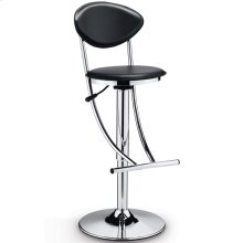Joset Black - Modern Adjustable Counter/bar Stool