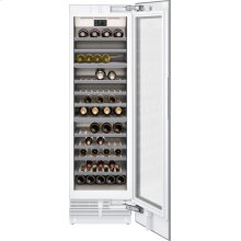 "400 series 400 series wine climate cabinet Fully integrated, with glass door Niche width 24"" (61 cm)"