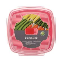 Frigidaire 1.3L Microwave Container with Steamer Insert