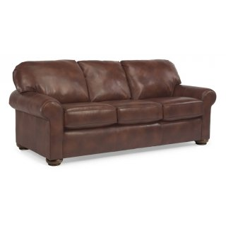 Preston Leather Queen Sleeper