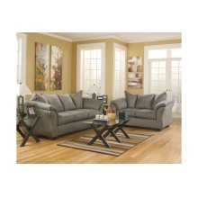 75005 Darcy Cobblestone Sofa and Loveseat