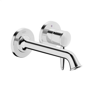 Classic 2-hole in-wall for wash basin, chrome Product Image