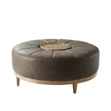 Chasen Cocktail Ottoman, Echo Oak