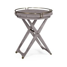 Folding Outdoor Round Side Table
