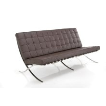 Brown Barcelona Sofa Leather