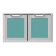 "36"" Hestan Outdoor Double Storage Doors - AGSD Series - Bora-bora"