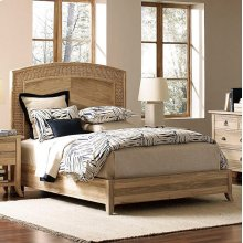 Cimarron Arc Seagrass Queen Bed