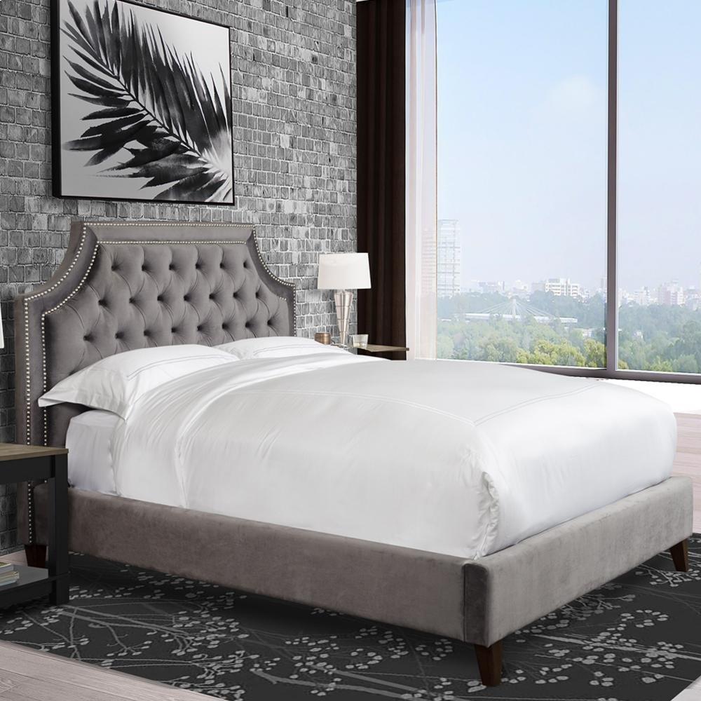 Jasmine Flannel (Grey) King Bed 6/6