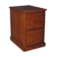 Classic File Cabinet, Classic File Cabinet, 2-Drawer, Raised-Panel End