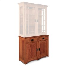 "Prairie Mission Hutch Base, 42""w, Prairie Mission Hutch Base, 42""w, 18"" Base"
