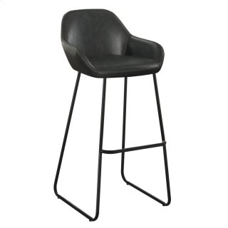 Leland Bar Stool Black