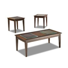 Living Room 3 Table Pack, 2 End,1 Cocktail 208-001 3PAK