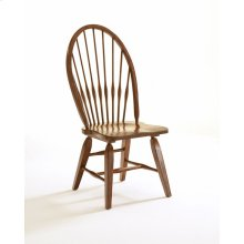 Attic Heirlooms Windsor Side Chair, Antique Black