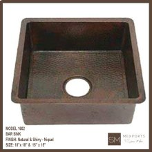 1602 Square Bar Sink