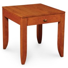 "Justine End Table, Justine End Table, 24""x25 3/4"""