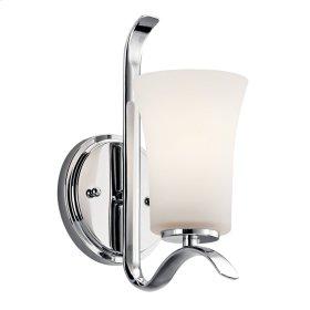 Armida 1 Light Wall Sconce Chrome