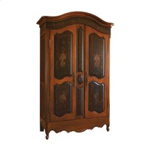 Lombardy Armoire with Adjustable Interior Shelves