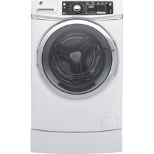 Used GE® ENERGY STAR® 4.9 DOE cu. ft. capacity RightHeight™ Design Front Load washer with steam