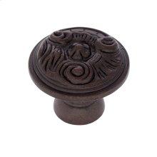 "Old World Bronze 1-1/4"" Vintage Knob"