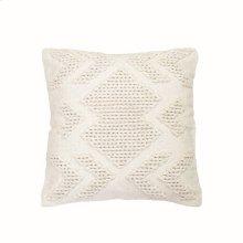 20X20 Hand Woven Nia Pillow White