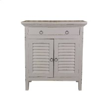 CC-CHE059LD-AG  Cottage Shutter Cabinet