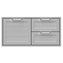 """42""""DBL.DRAWER and Storage Door COMBI.,MARQUISE"""