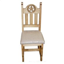 Padded Open Star Chair