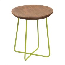Rainbox Stool Green Legs-m2