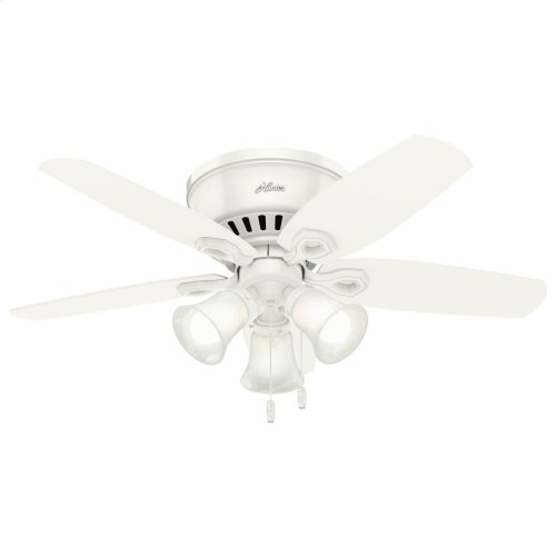 Builder Low Profile with 3 Lights 42 inch Ceiling Fan