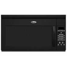 Black-on-Black 1.7 cu. ft. Family Capacity™ Microwave-Range Hood Combination