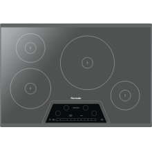 30-Inch Masterpiece® Induction Cooktop, Silver Mirror, Frameless - Floor Model