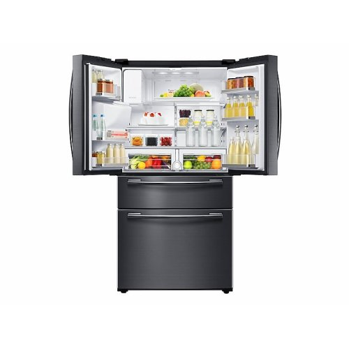 25 cu. ft. 4-Door French Door Refrigerator in Black Stainless Steel