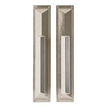 """Mack Pull/Pull Set - 3 3/4"""" x 20"""" Silicon Bronze Brushed"""