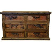 Dresser with Copper Panels