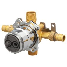 New - Treysta Tub & Shower Valve- Horizontal Inputs Without Stops- Cold Expansion Pex