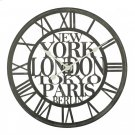 Cities of the World Wall Clock Product Image