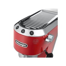 Dedica Manual Espresso Machine - Red - EC680R
