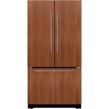 "36"" Counter-Depth French Door Bottom-Freezer Benchmark Series - Custom Panel"