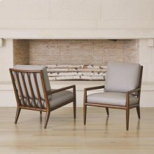 Lucas Lounge Chair-Muslin