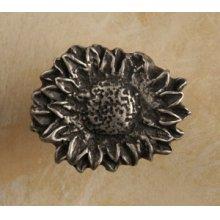 Sunflower Oval Small Knob