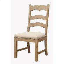 Ladderback Side Chair Uph Seat Rta