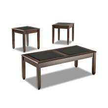 Living Room 3 Table Pack, 2 End,1 Cocktail 207-001 3PAK