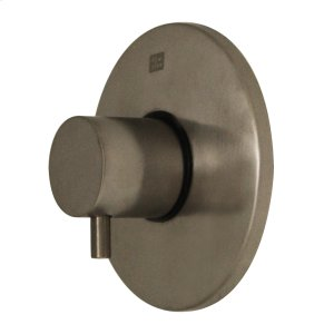 Luxe round volume control with short lever handle. Product Image