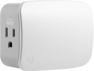 GE Plug-In Switch (Two Outlet) (for Works with Ring Alarm Security System) - White Product Image