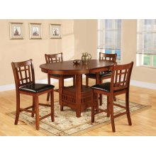 5 Piece Pub - Table With Four Pub Chairs