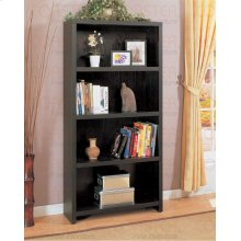 "BOOKCASE,DARK COFFEE/F 35""X11-3/4""X71""H"
